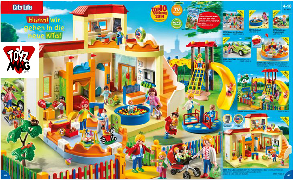 catalogue allemand playmobil creche