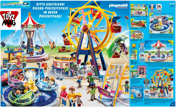 catalogue allemand playmobil fete foraine