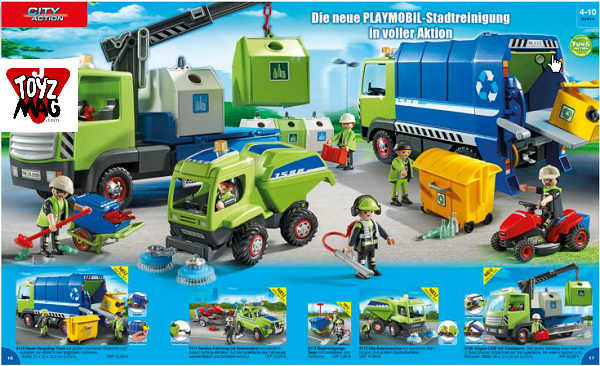 catalogue allemand playmobil propreté