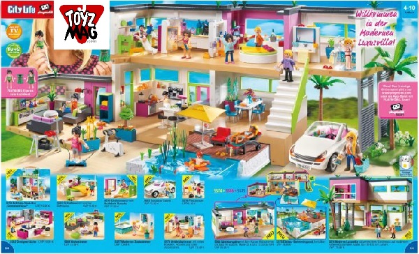 catalogue allemand playmobil villa