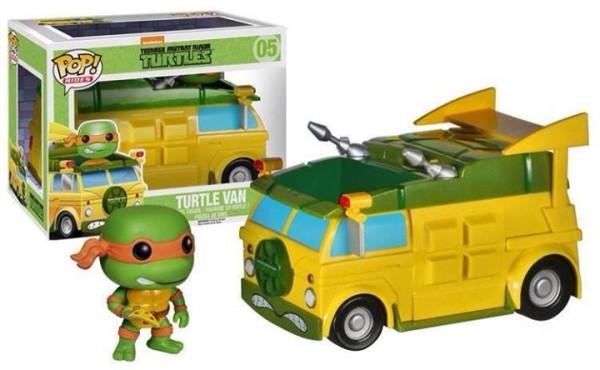 funko pop Turtles Van TMNT