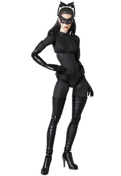 Mafex : Catwoman et Batpod de The Dark Knight Rises