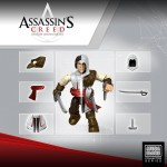 Assassin's Creed : des figurines customisables par Mega Bloks