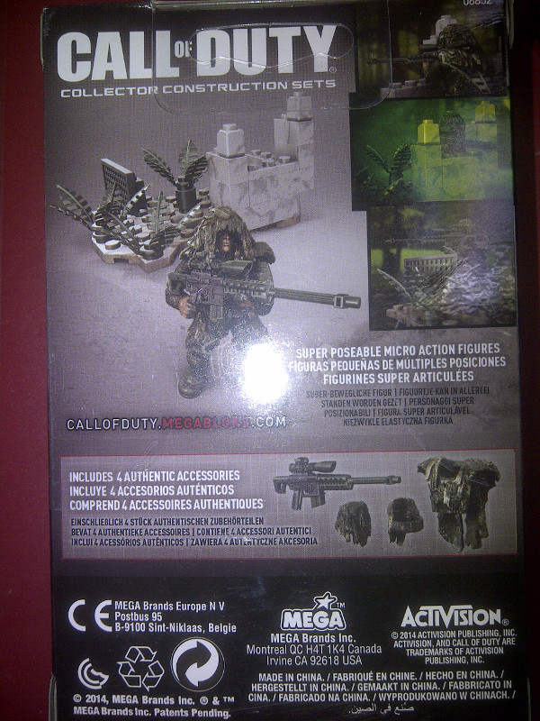 mega bloks call of duty 3