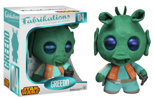 Star Wars Fabrikations  GREEDO
