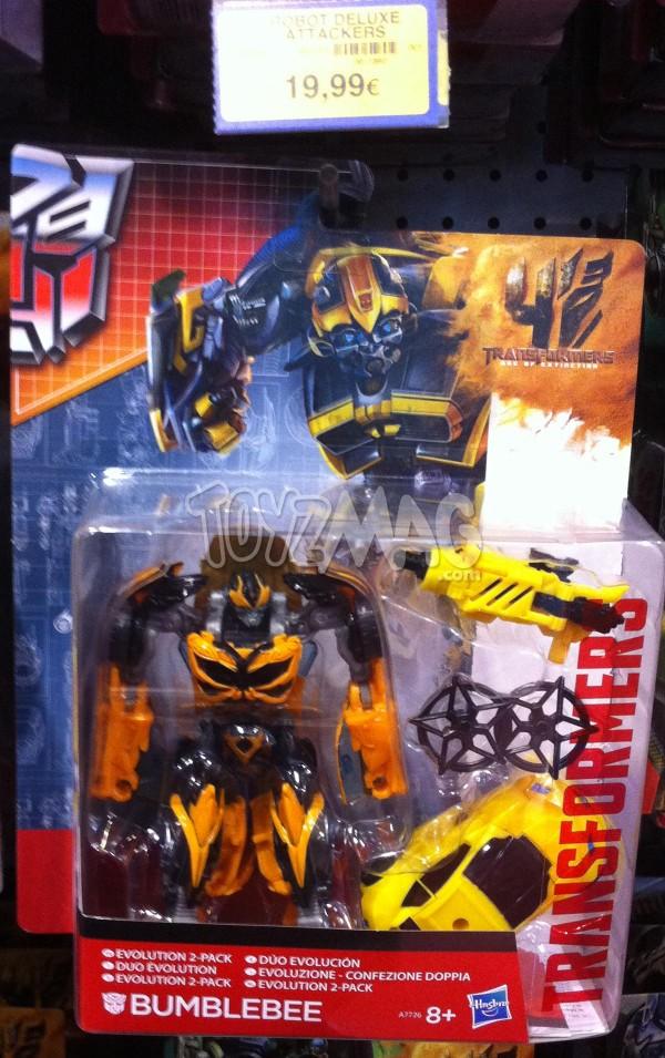 Transformers 4 Bumlebee Evolution