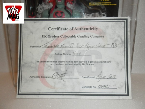 Certificat UKG