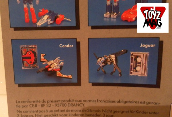 Condor et Jaguar cardback