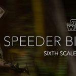 Star Wars – Sideshow : préco Scout Trooper & Speeder Bike