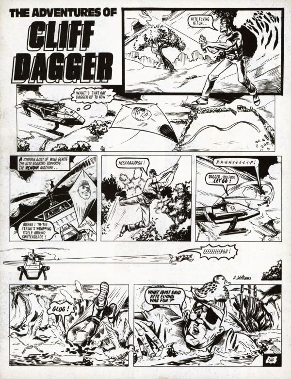 The-Adventures-Of-Cliff-Dagger_Edit eagle comics 1989