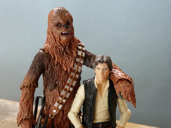 balck series 6in chewbacca star wars hasbro 11