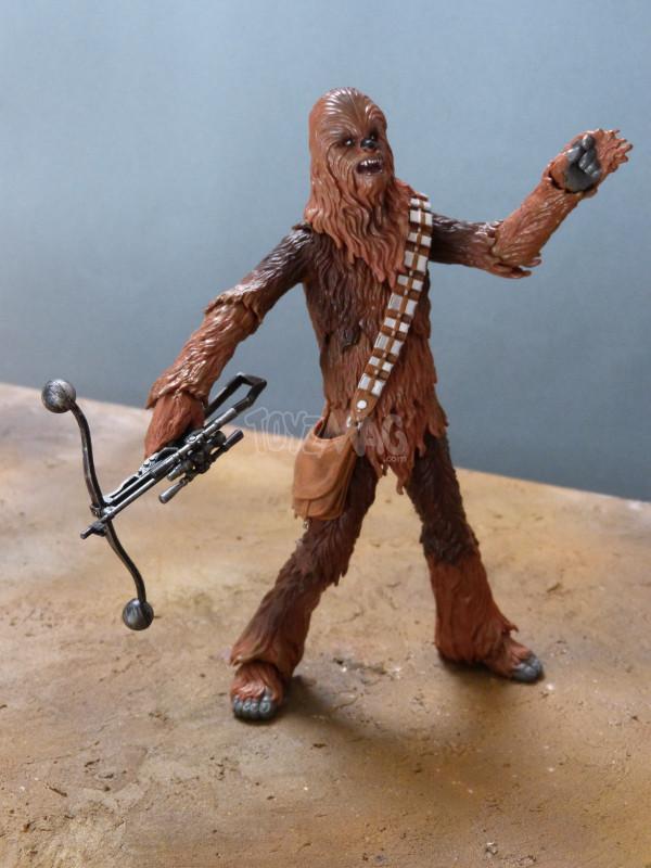 balck series 6in chewbacca star wars hasbro 6