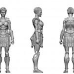 Vitruvian H.A.C.K.S. : épreuve numérique pour l'amazone