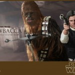 Star Wars par Hot Toys : Chewbacca & Han Solo
