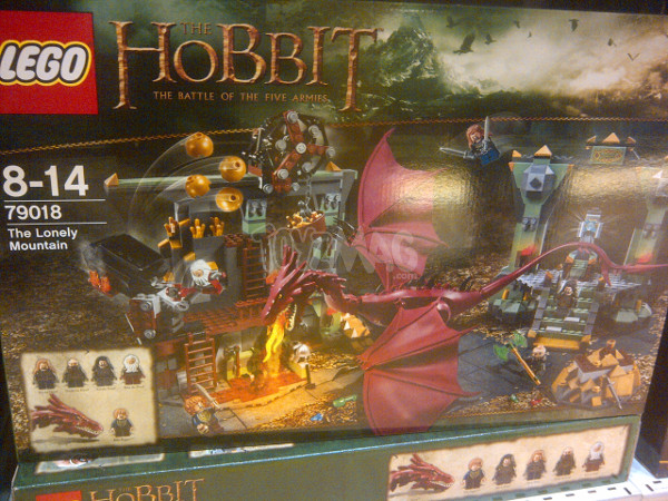 dispo en france hobbit star wars 3