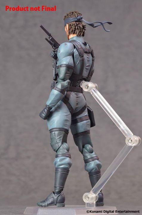 figma solide Snake Metal Gear