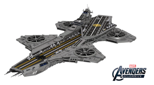 lego ideas shield helicarrier marvel