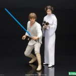 Star Wars A New Hope – Luke et Leia par Kotobukiya