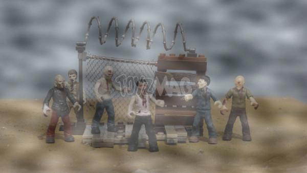 mega bloks zombie pack 14