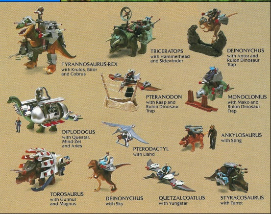 Wave 1 Dino - Riders
