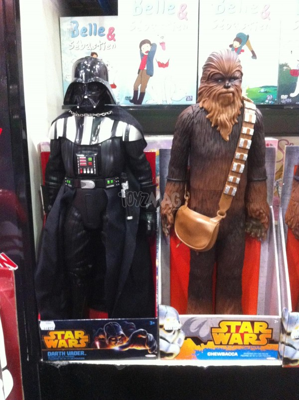 star wars Jakks Pacifics Darth Vader Chewbacca