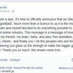 Tsume-Art acquiert une licence Dragon Ball Z