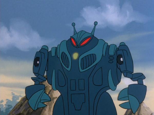 Casmodon animé mode robot (2)