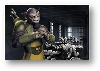 zed satr wars rebels