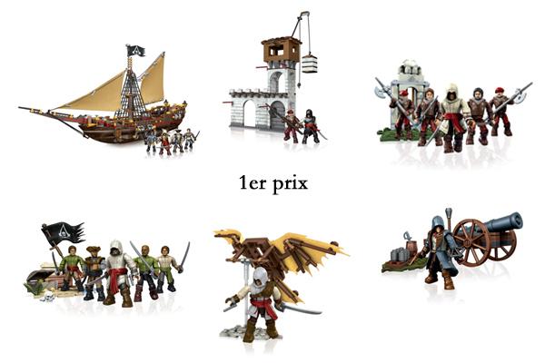 Concours Assassin's Creed Mega Bloks