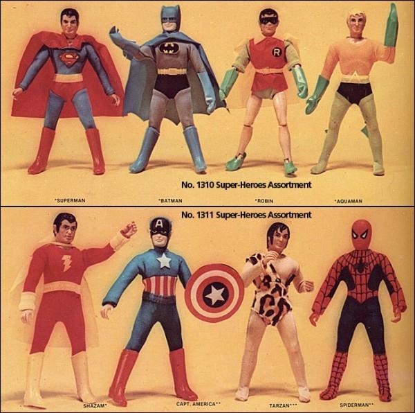 Poupées Mego Super Héros