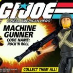 "GI.Joe Rock'n Roll 12"" Gentle Giant"