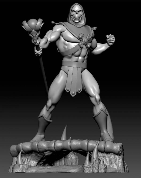 MOTU Skeletor Preview