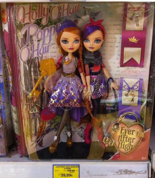 Holly O'Hair et Poppy O'Hair,
