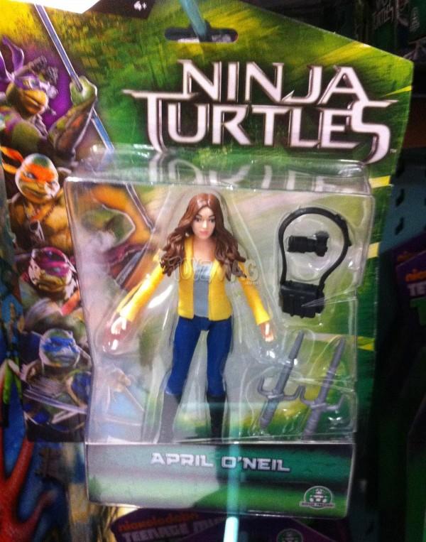 April O'Niel Turles Ninja le film TMNT03