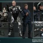Robocop Battle Damaged et Murphy par hot Toys
