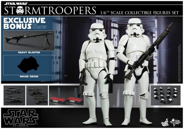 hot toys stormtroopers set