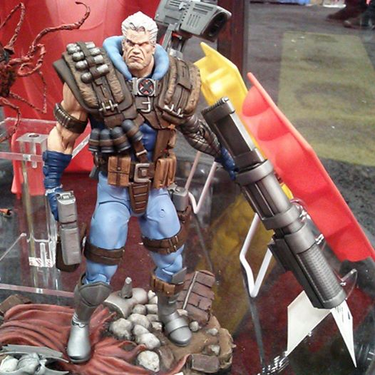 marvel select cable nycc