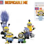 Moi, moche et méchant : les Minions par Mega Bloks