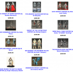 Mythic Legions : les customs des Four Horsemen en vente !