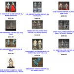 Mythic Legions : les customs des Four Horsemen en vente !