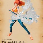 "FiguartsZERO  Nami Ver. Battle ""Milky Ball"""