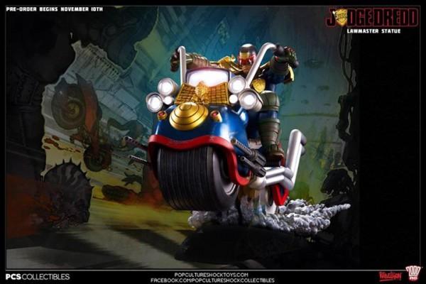 Judge Dredd on Lawmaster Diorama