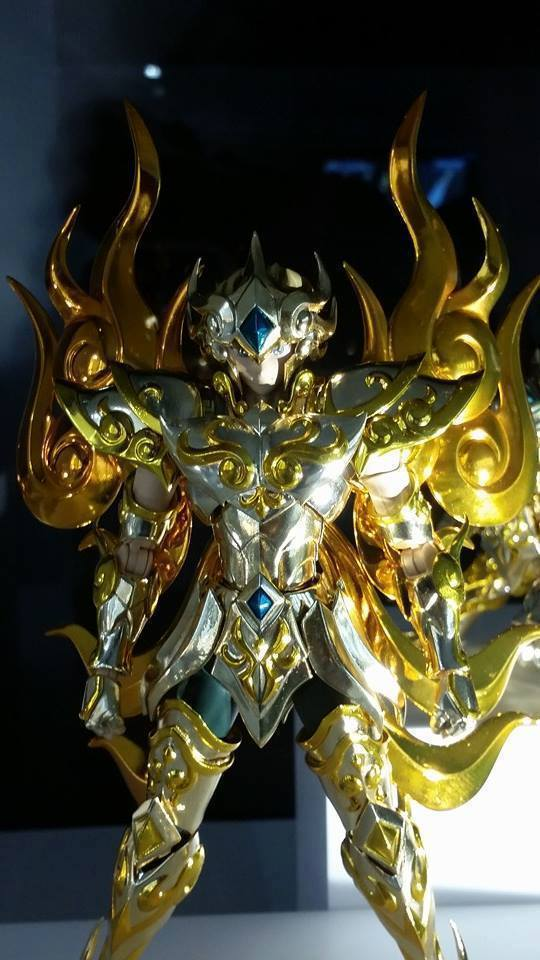 saint seiya soul of gold leo lion