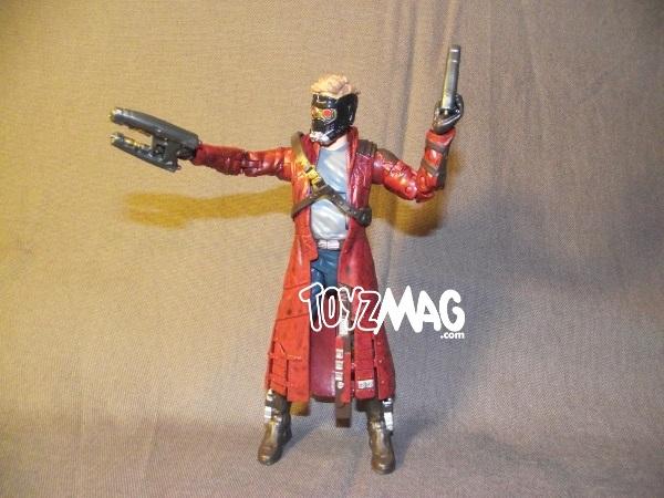 star lord avec masque et armes Marvel