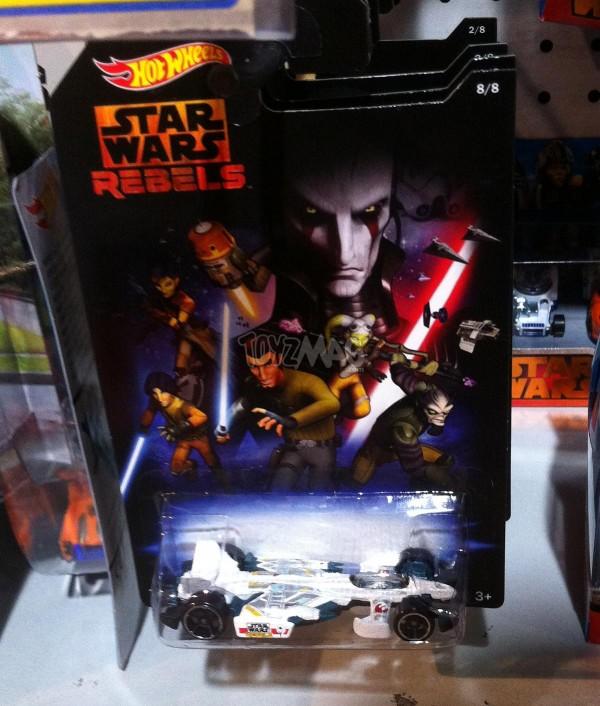 Toys R US Star Wars Rebel Hot Wheels