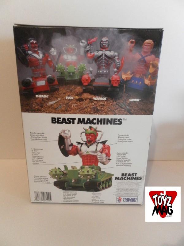 Evol Beast Machines dos de boite