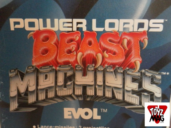 Logo Beast Machines Power Lords
