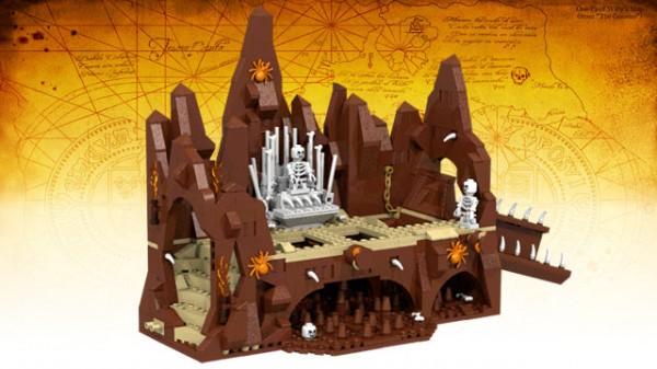 goonies lego skeleton scare vue d'ensemble