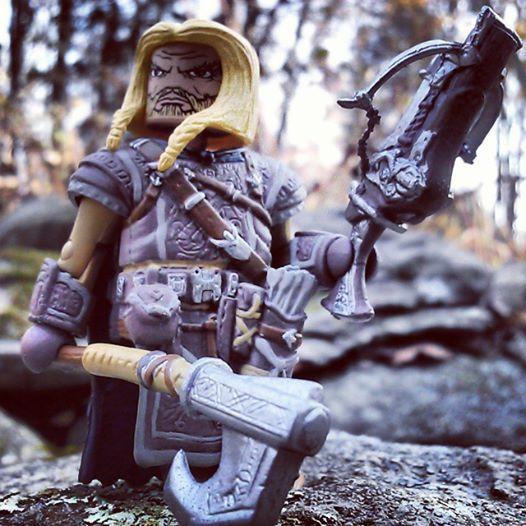 harsk dwarf ranger minimates pathfinder