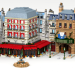 LEGO Ideas : Ratatouille – Place de Rémy à Disneyland Paris